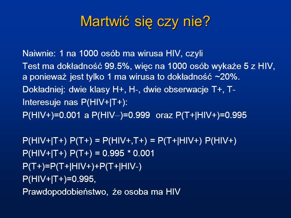 Martwić się czy nie Naiwnie: 1 na 1000 osób ma wirusa HIV, czyli