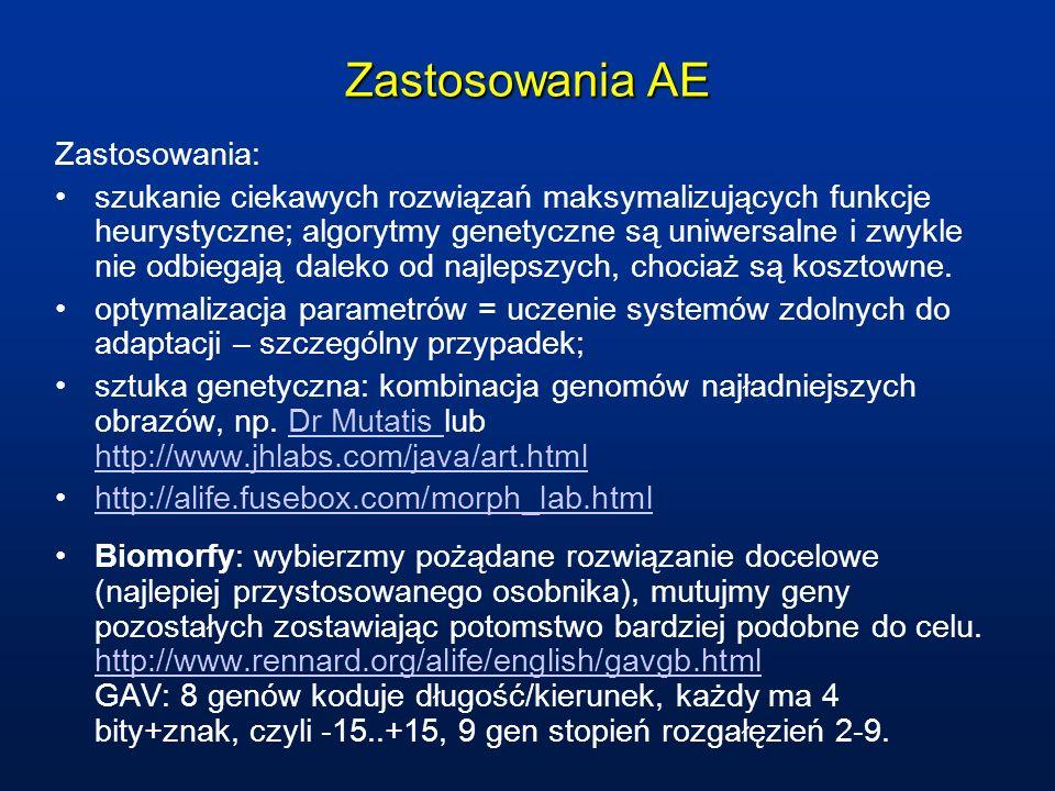 Zastosowania AE Zastosowania: