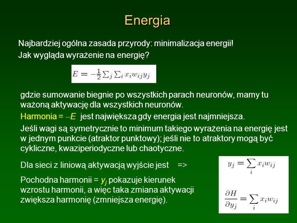 Energia Najbardziej ogólna zasada przyrody: minimalizacja energii!