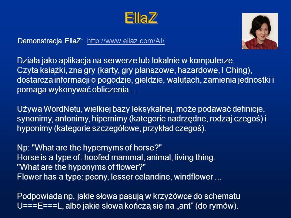 EllaZ Działa jako aplikacja na serwerze lub lokalnie w komputerze.