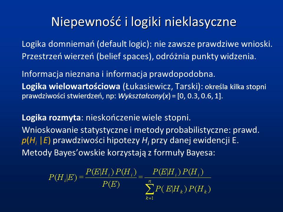 Niepewność i logiki nieklasyczne