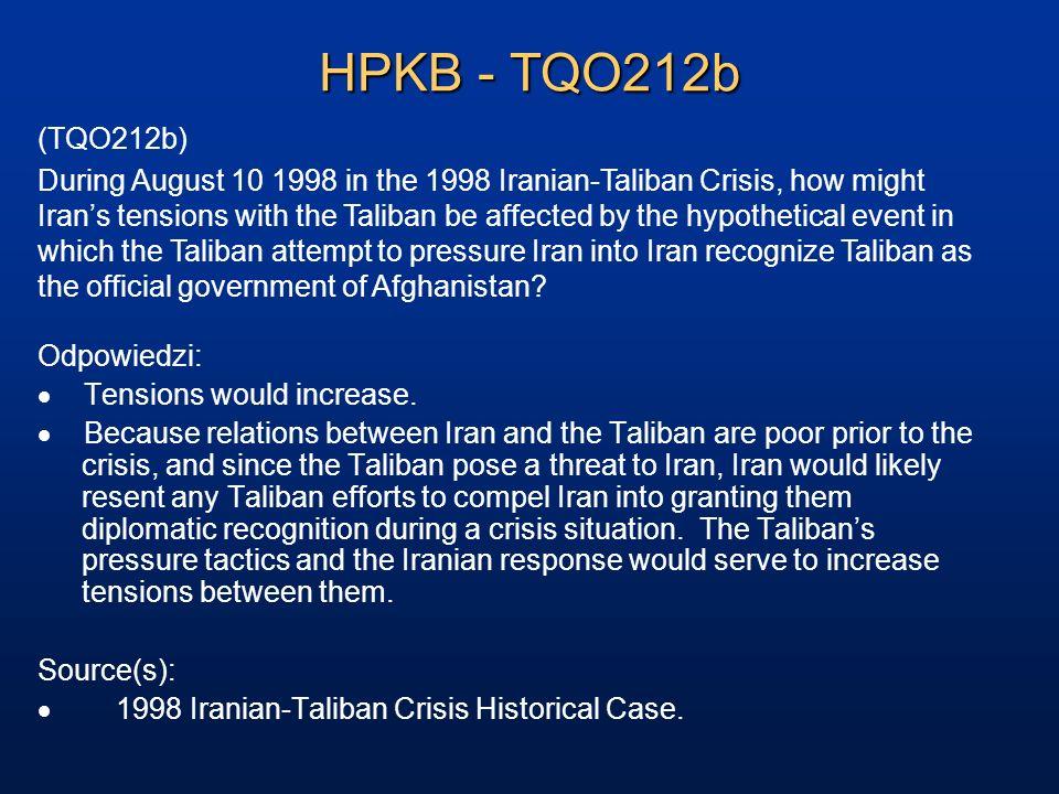 HPKB - TQO212b (TQO212b)