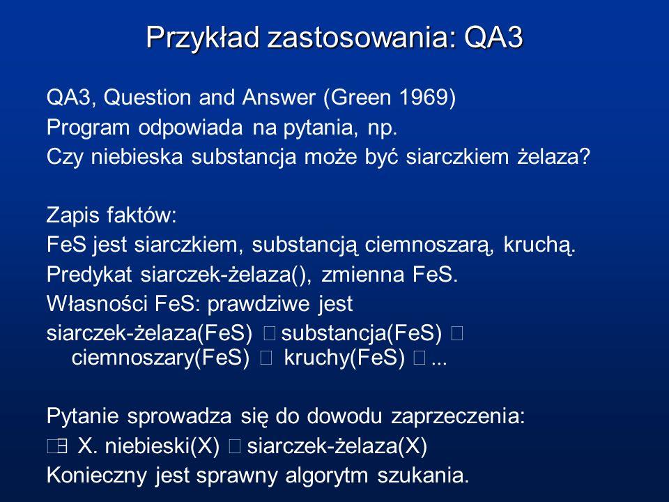 Przykład zastosowania: QA3