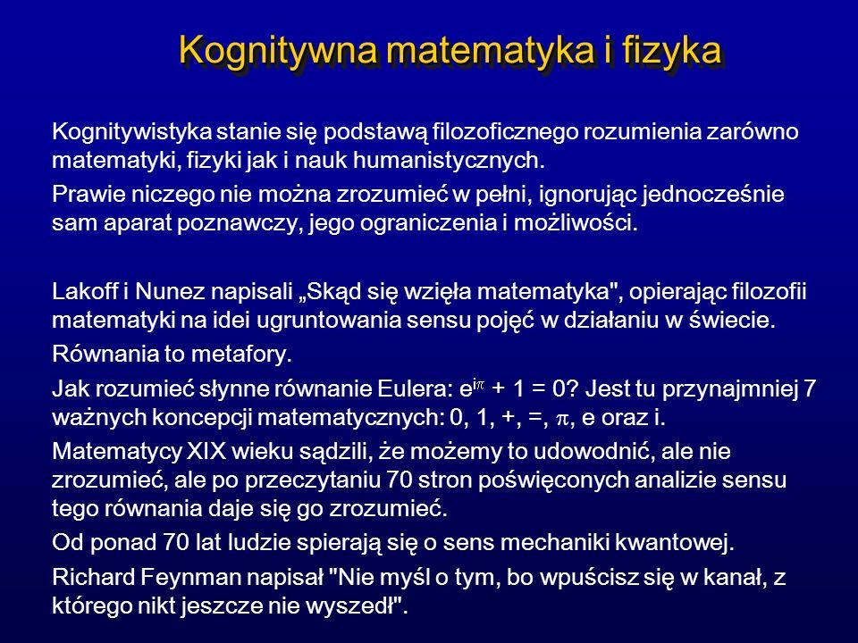 Kognitywna matematyka i fizyka