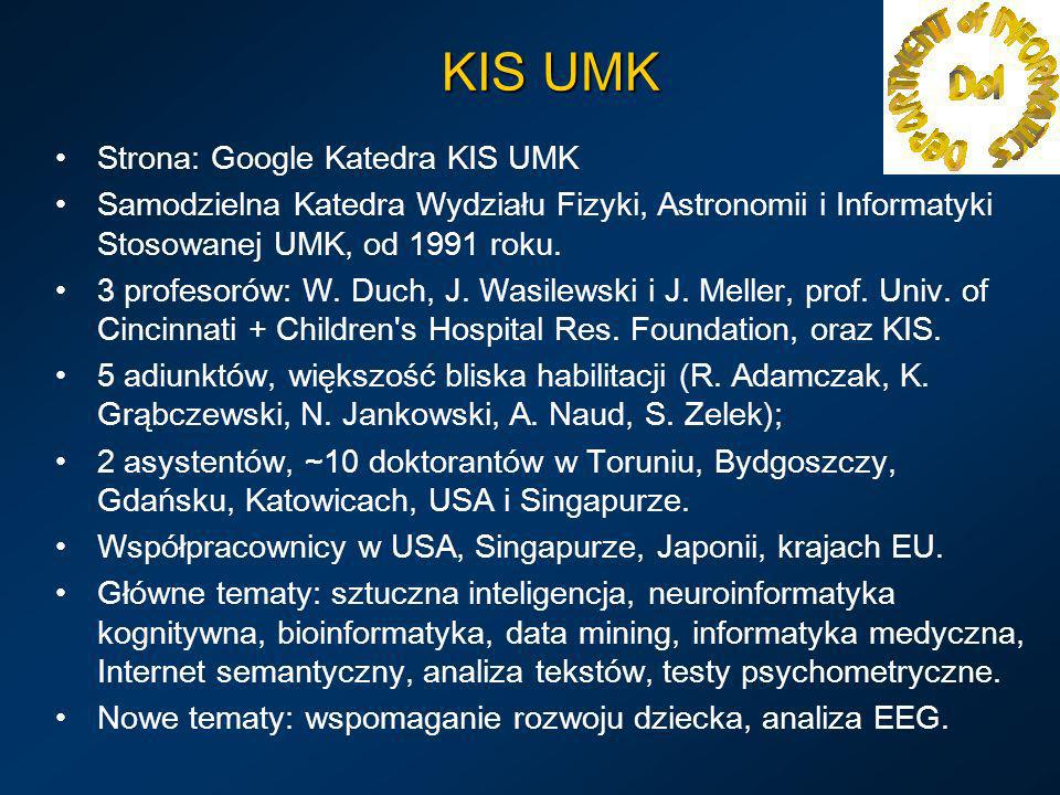 KIS UMK Strona: Google Katedra KIS UMK