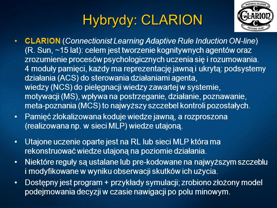Hybrydy: CLARION