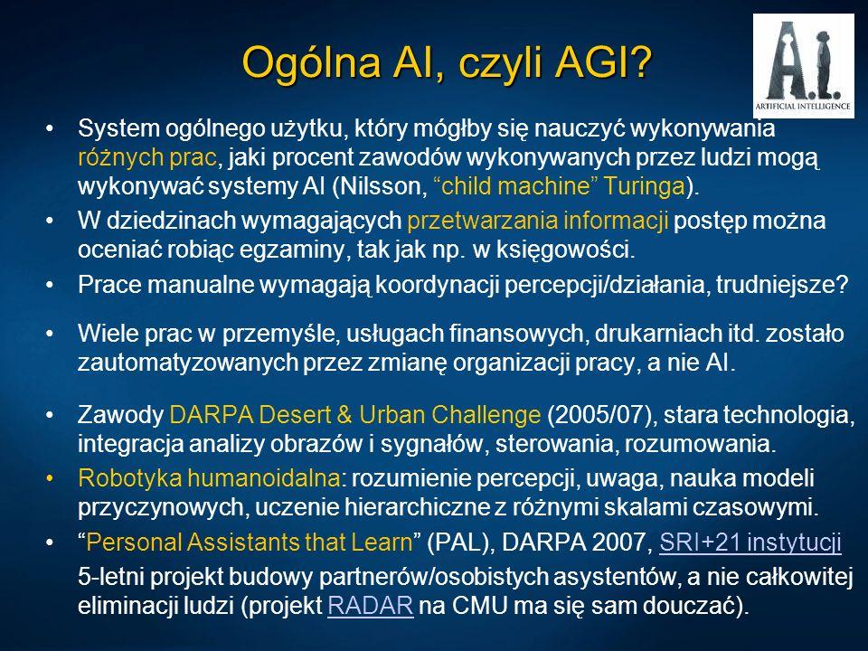 Ogólna AI, czyli AGI