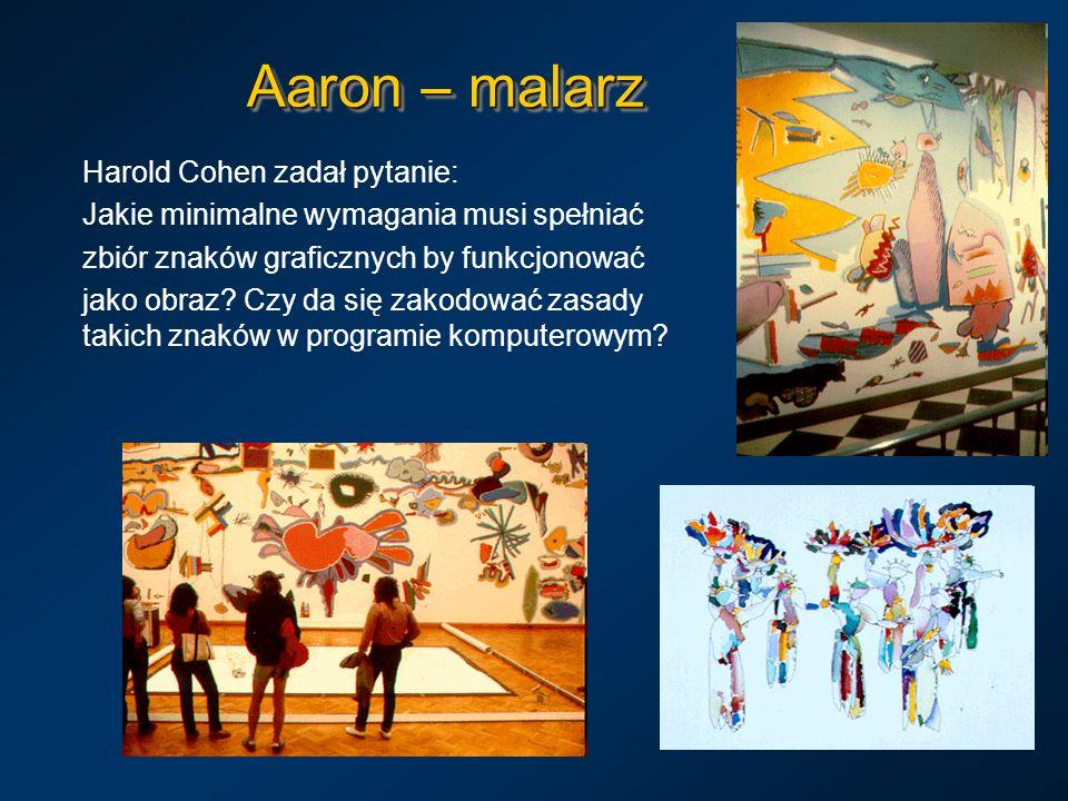 Aaron – malarz Harold Cohen zadał pytanie: