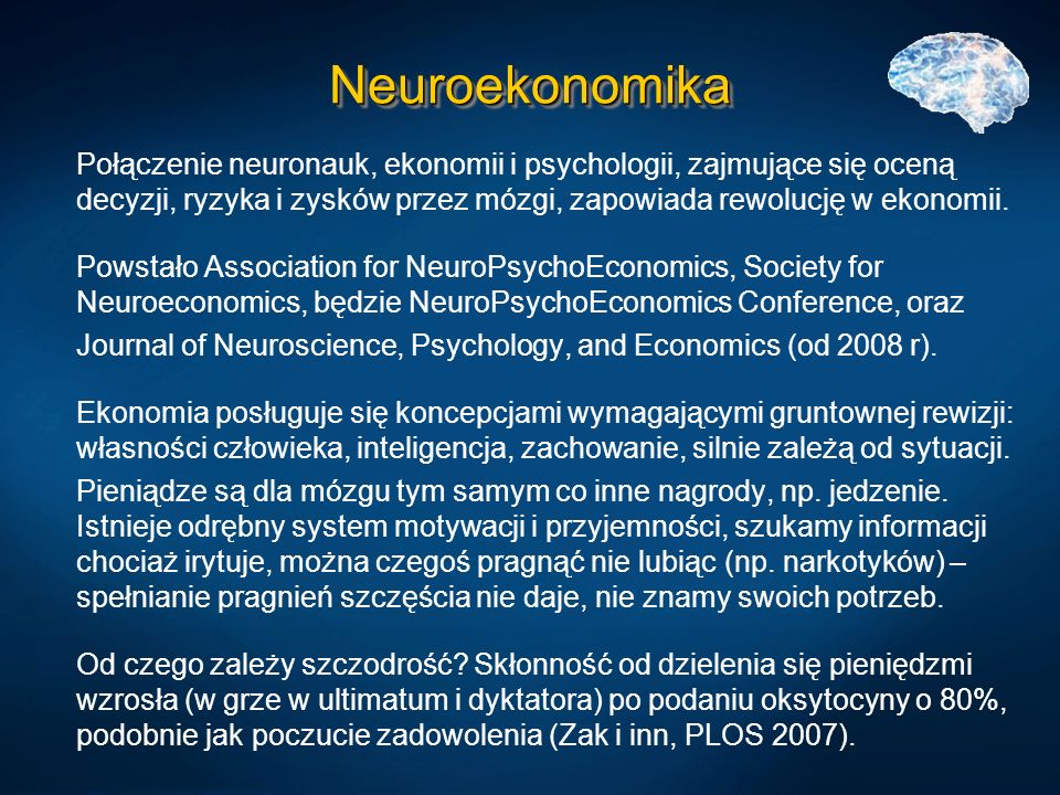 Neuroekonomika