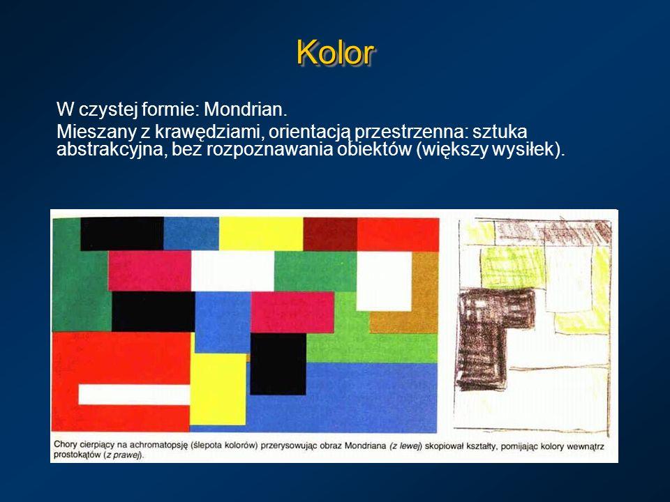 Kolor W czystej formie: Mondrian.