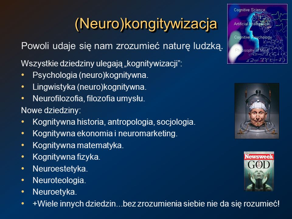 (Neuro)kongitywizacja