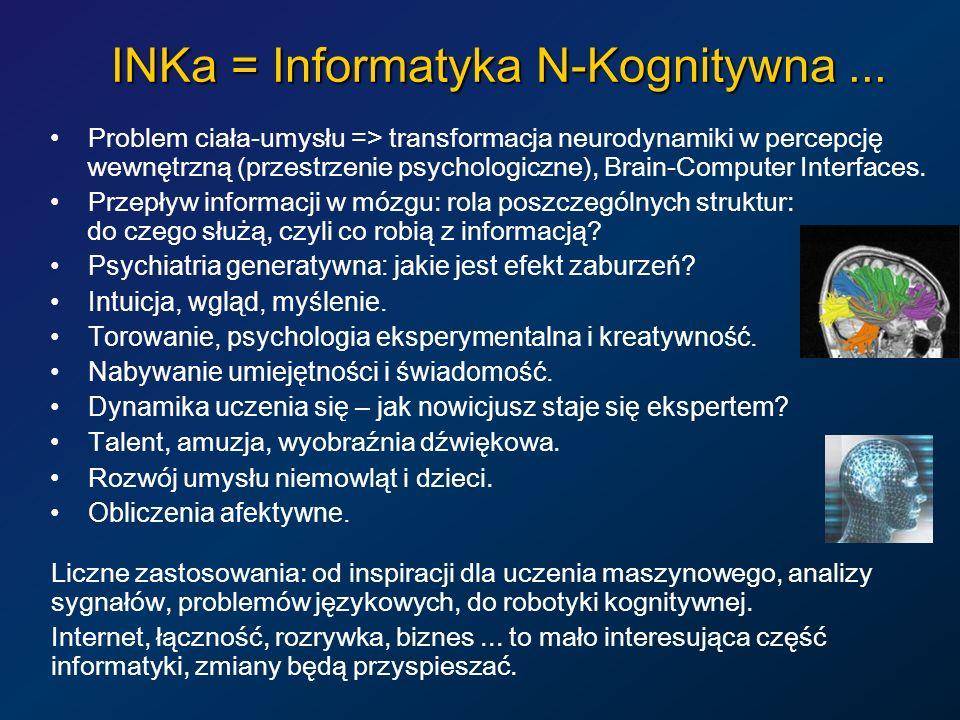 INKa = Informatyka N-Kognitywna ...