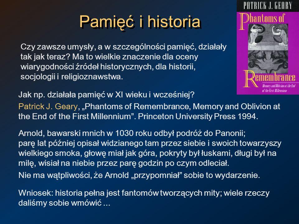Pamięć i historia