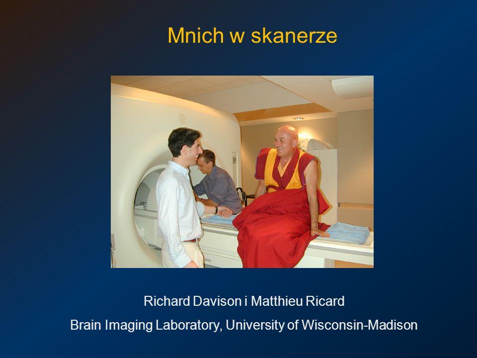 Mnich w skanerze Richard Davison i Matthieu Ricard