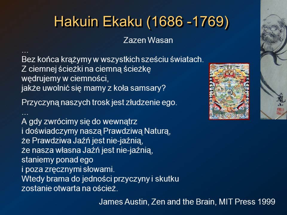 Hakuin Ekaku (1686 -1769) Zazen Wasan ...