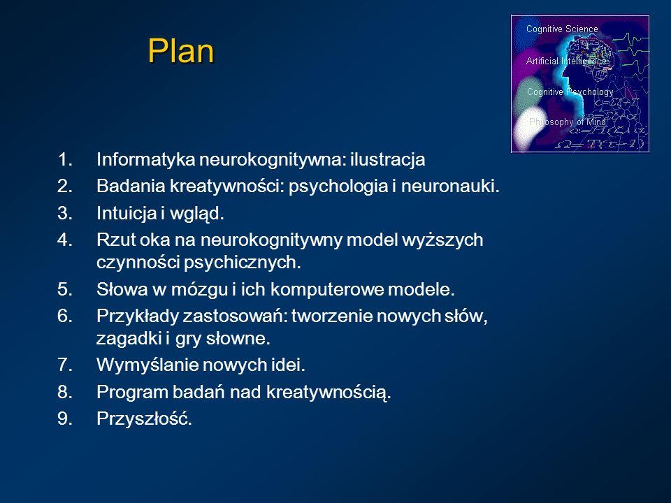 Plan Informatyka neurokognitywna: ilustracja
