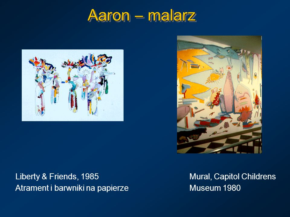 Aaron – malarz Liberty & Friends, 1985 Mural, Capitol Childrens