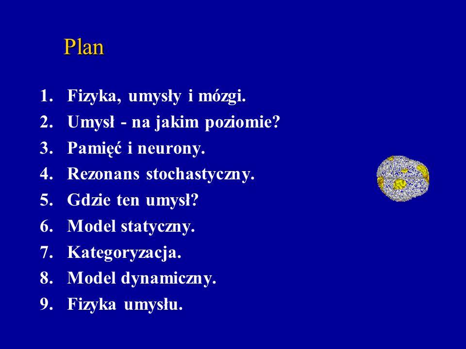 Plan Fizyka, umysły i mózgi. Umysł - na jakim poziomie