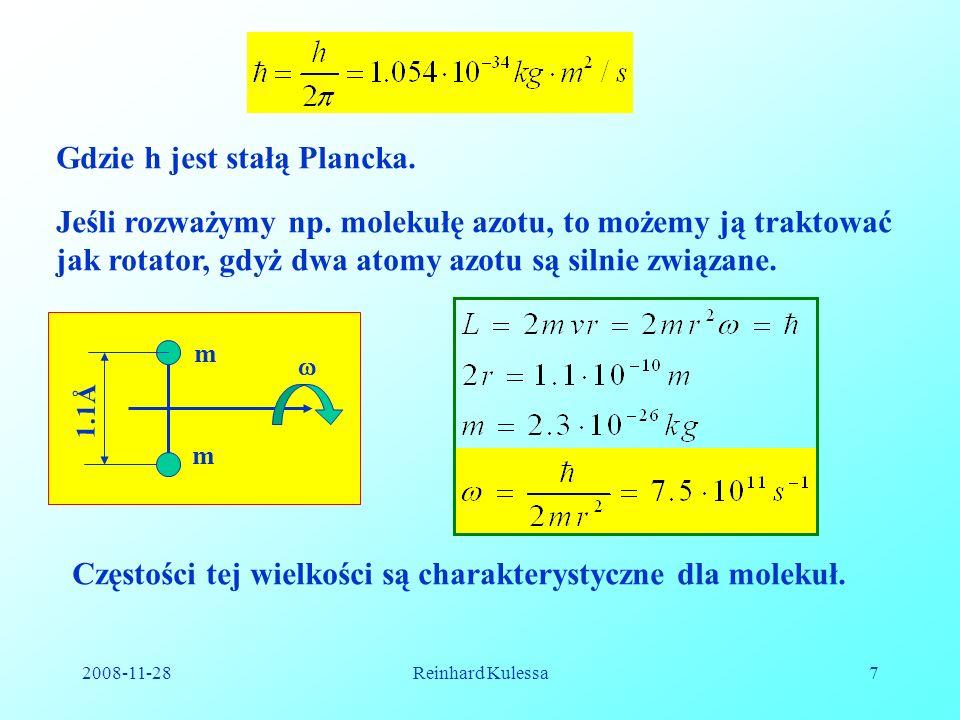 Gdzie h jest stałą Plancka.