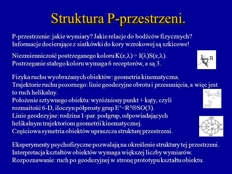 Struktura P-przestrzeni.