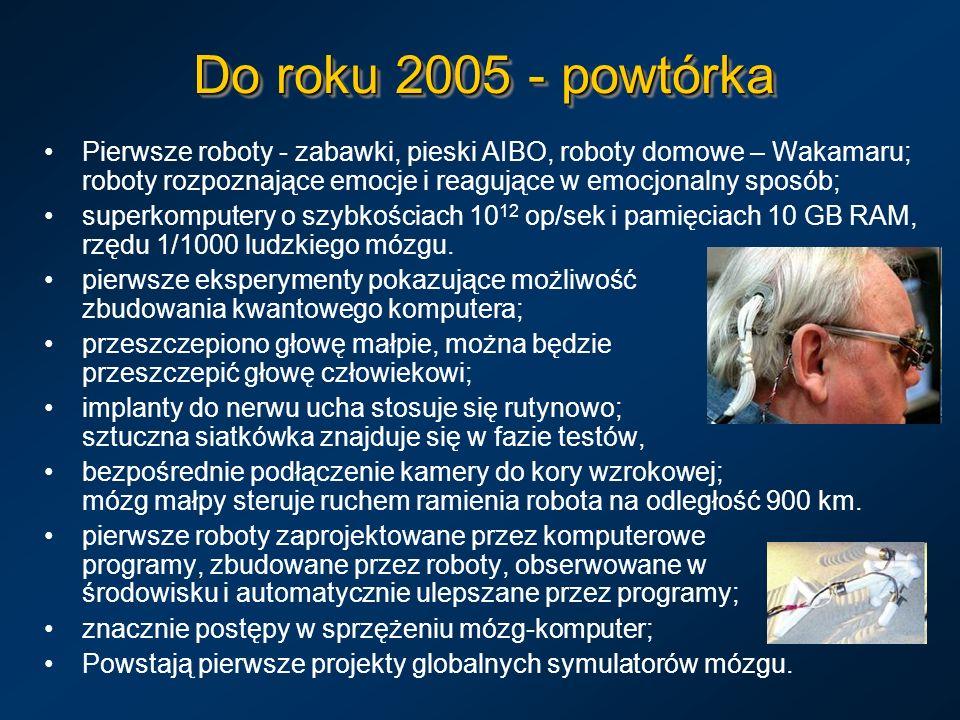 Do roku 2005 - powtórka