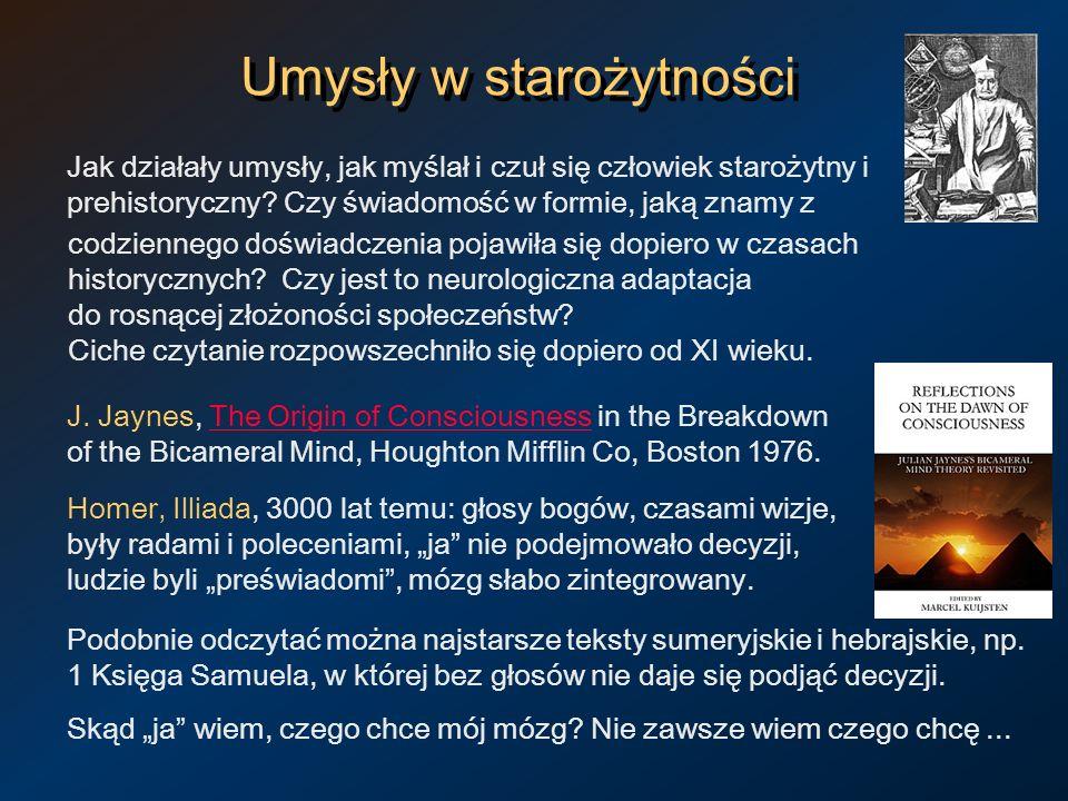 Umysły w starożytności