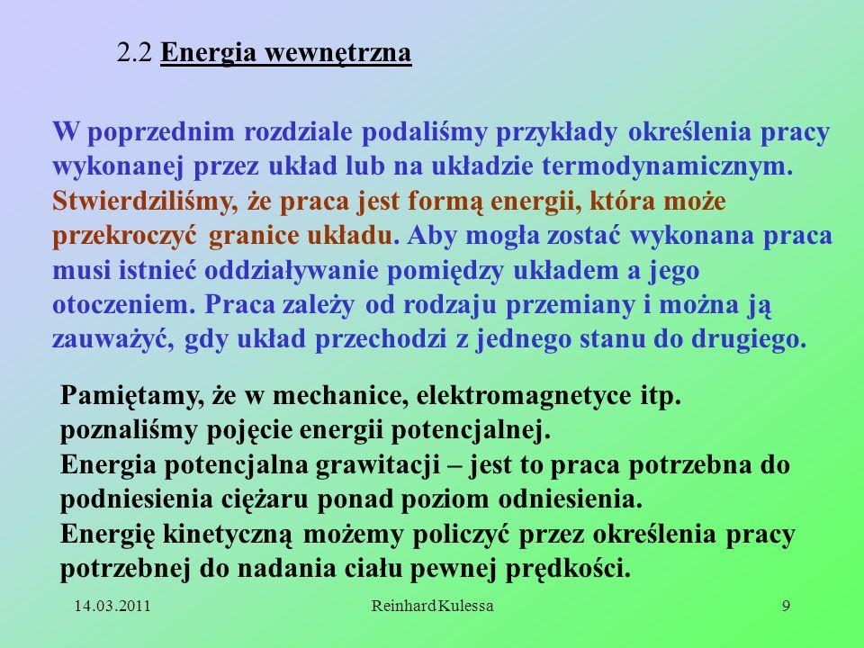 2.2 Energia wewnętrzna