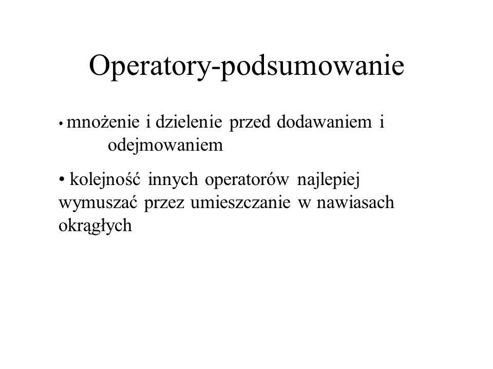 Operatory-podsumowanie