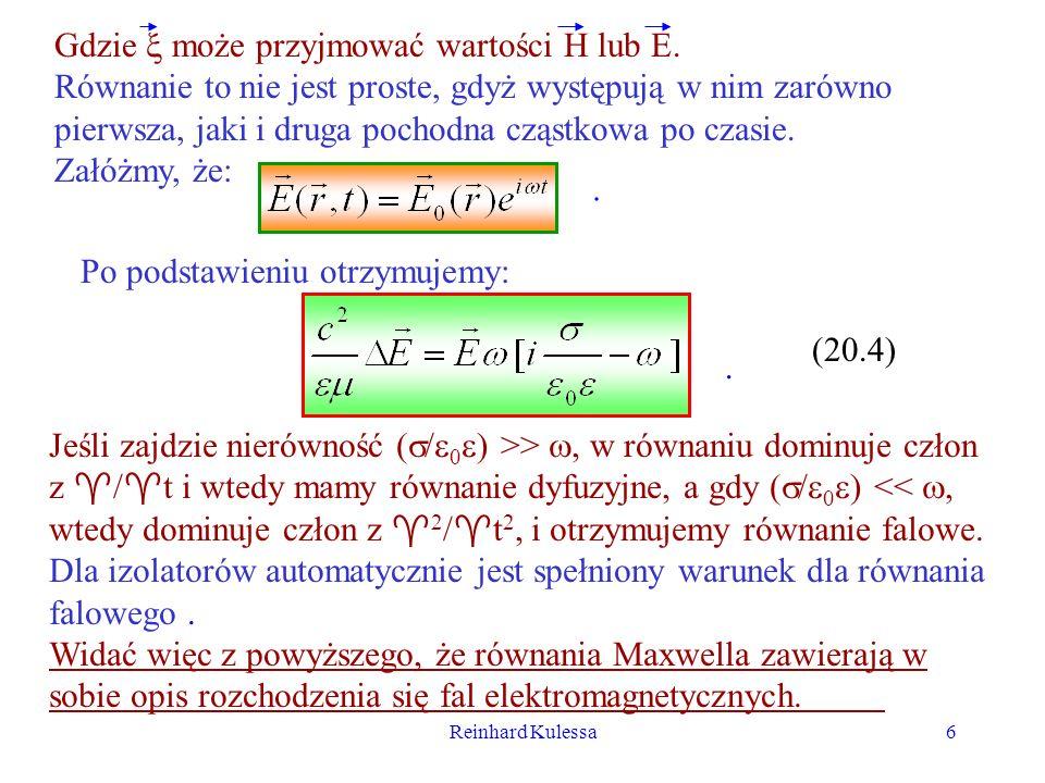 Gdzie  może przyjmować wartości H lub E.