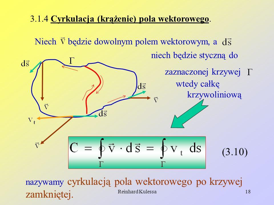 3.1.4 Cyrkulacja (krążenie) pola wektorowego.