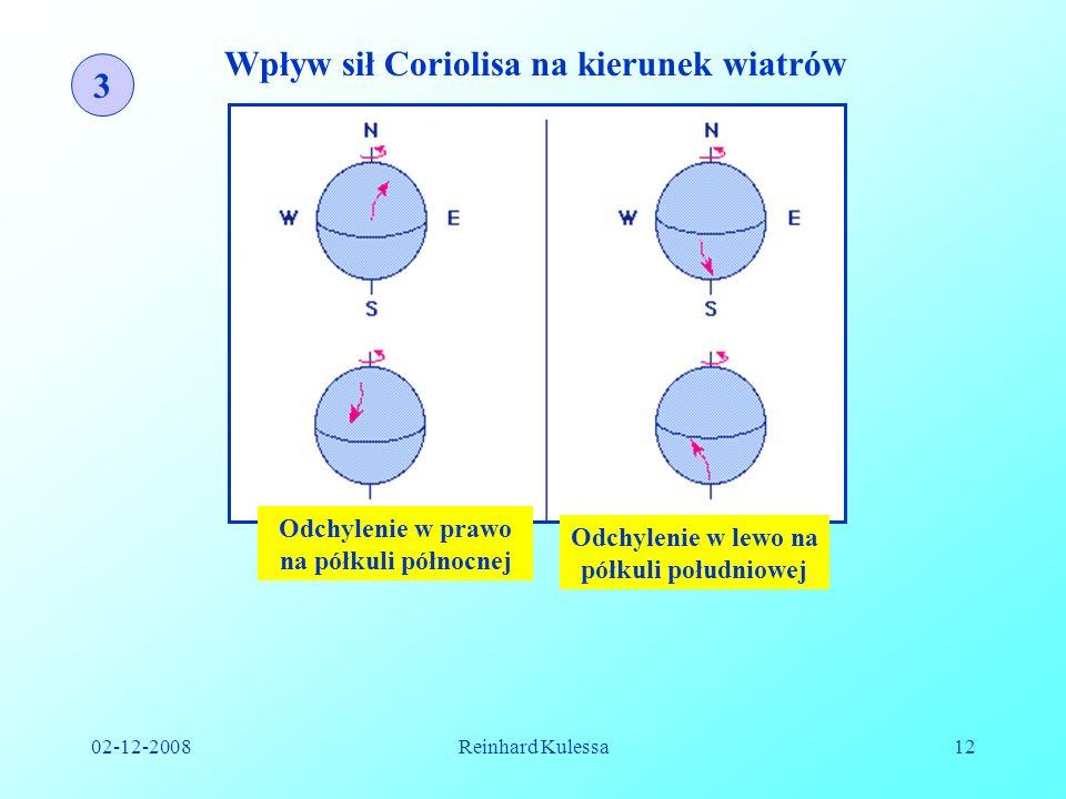Wpływ sił Coriolisa na kierunek wiatrów 3