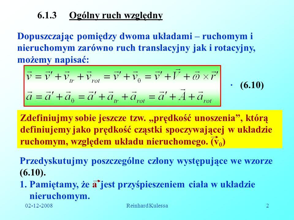 Przedyskutujmy poszczególne człony występujące we wzorze (6.10).