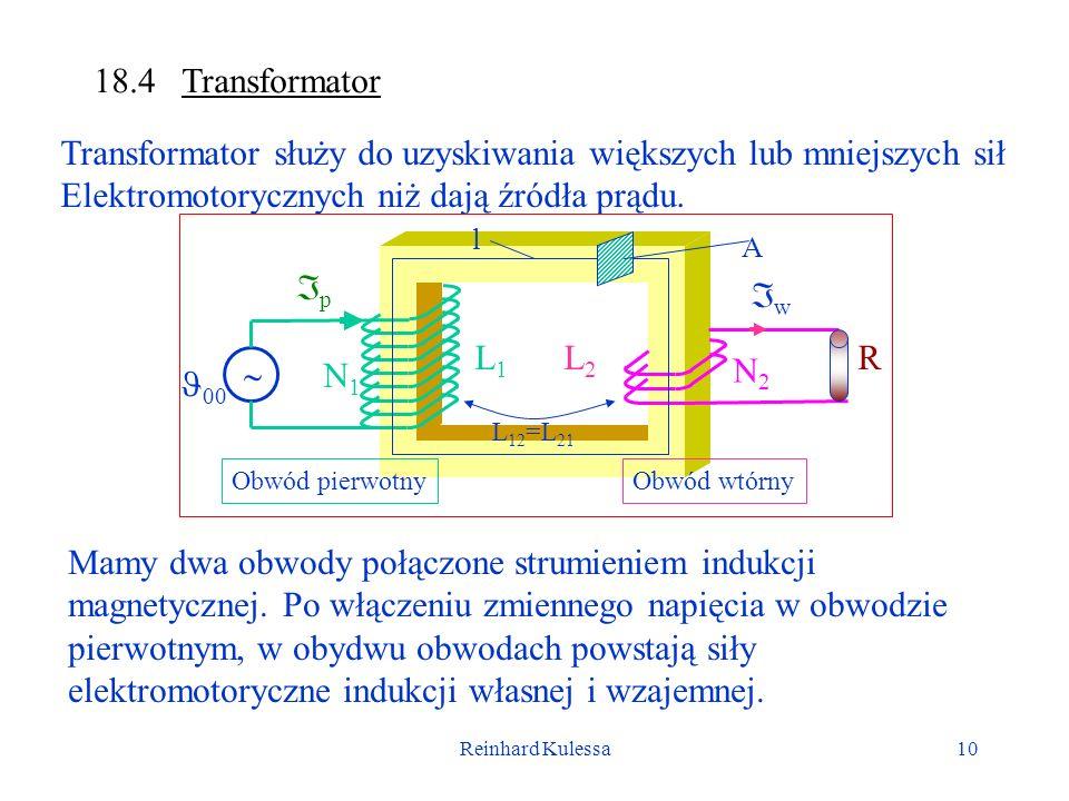 Transformator służy do uzyskiwania większych lub mniejszych sił