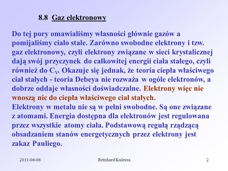 8.8 Gaz elektronowy