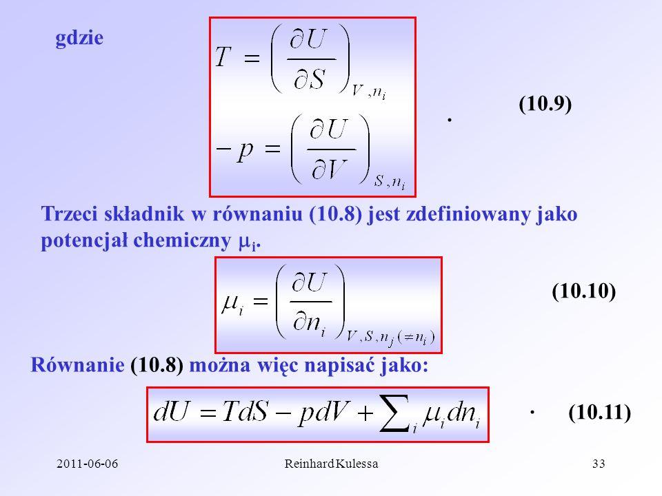 Równanie (10.8) można więc napisać jako: