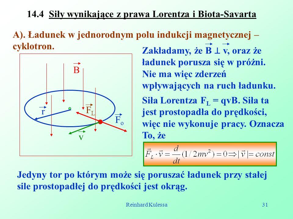 14.4 Siły wynikające z prawa Lorentza i Biota-Savarta