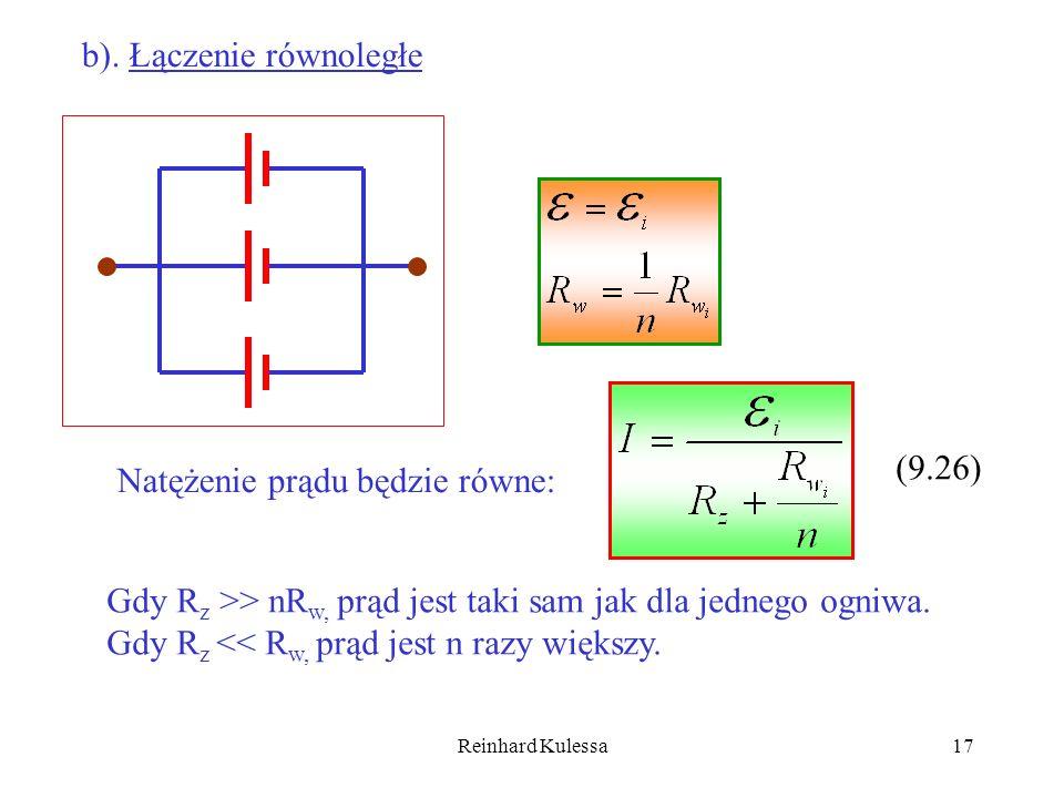 b). Łączenie równoległe