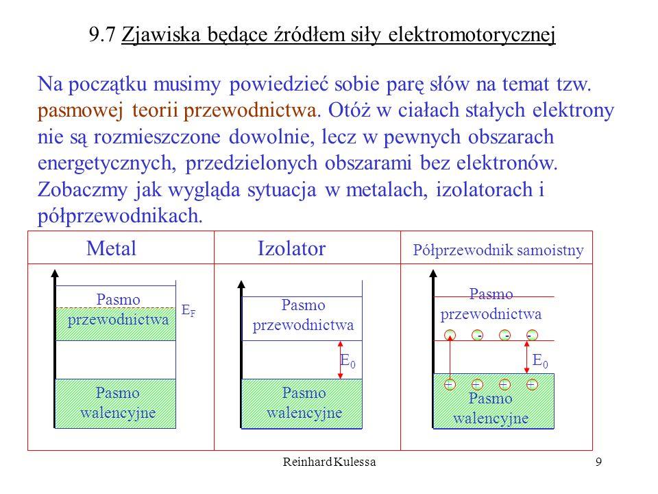 9.7 Zjawiska będące źródłem siły elektromotorycznej