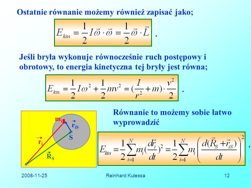 Ostatnie równanie możemy również zapisać jako;