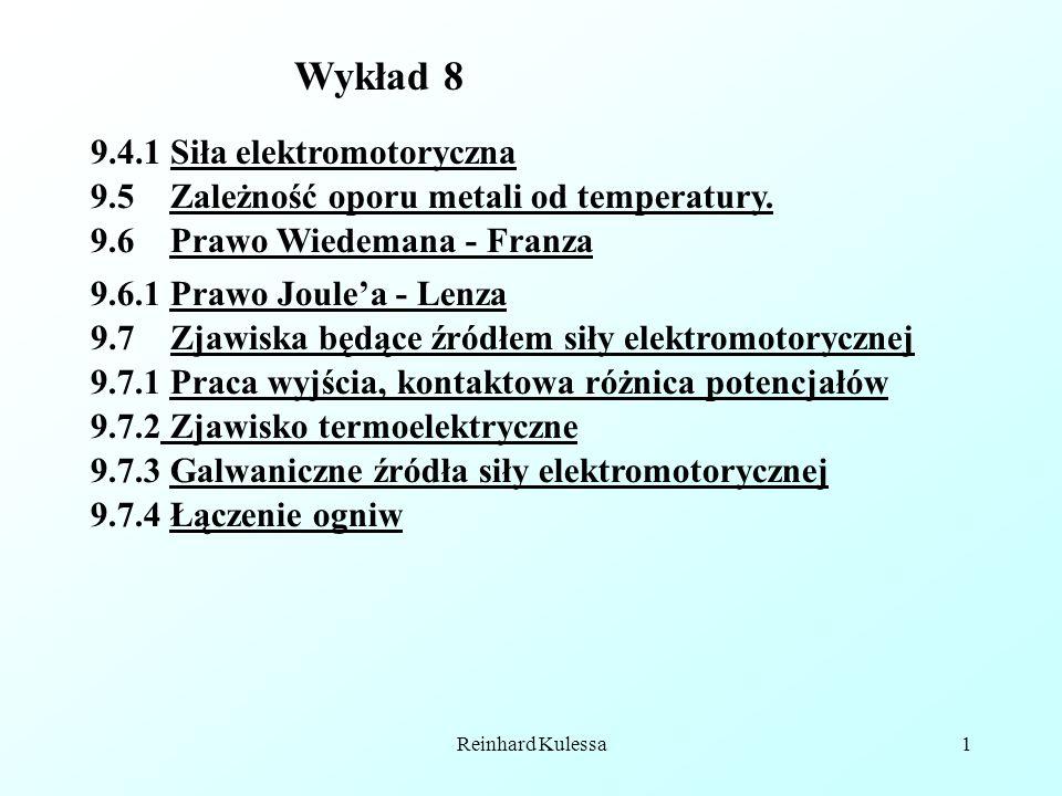 Wykład 8 9.4.1 Siła elektromotoryczna