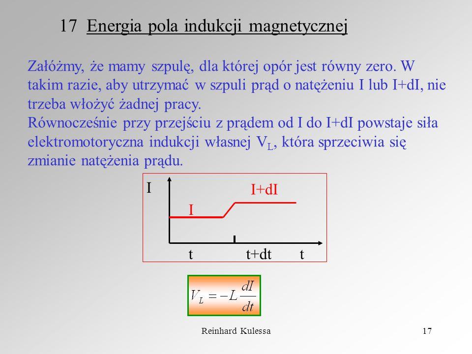 17 Energia pola indukcji magnetycznej