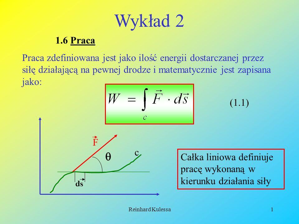 Wykład 2 1.6 Praca.