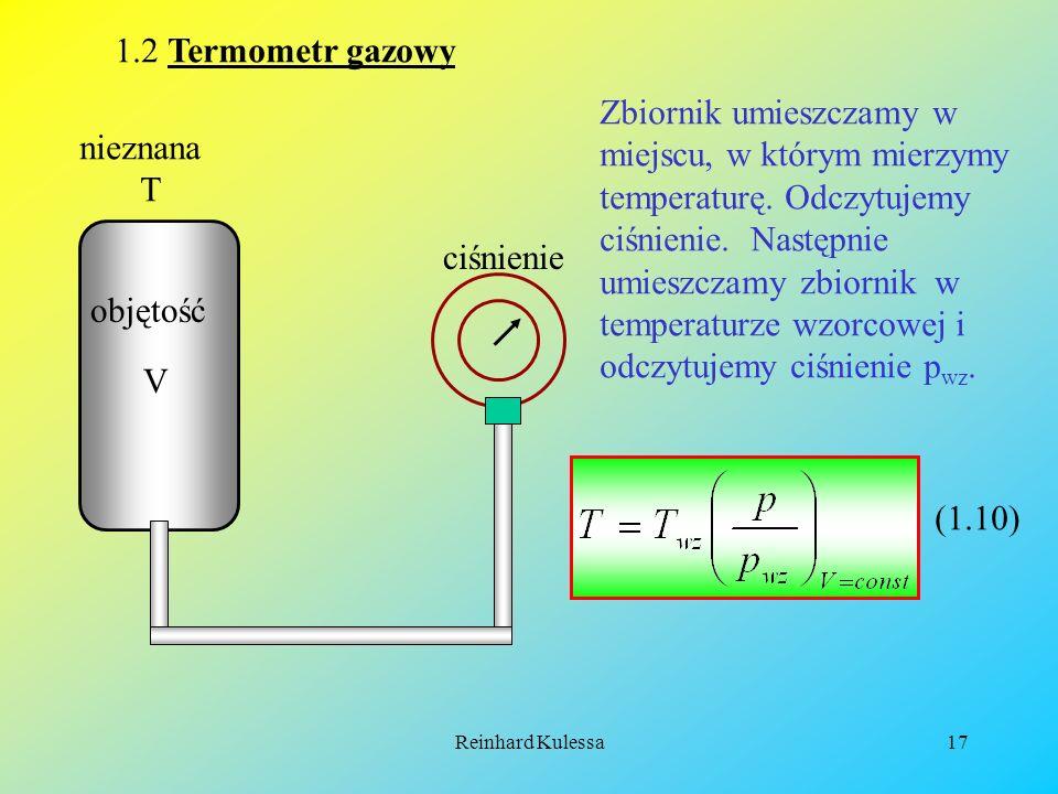 1.2 Termometr gazowy