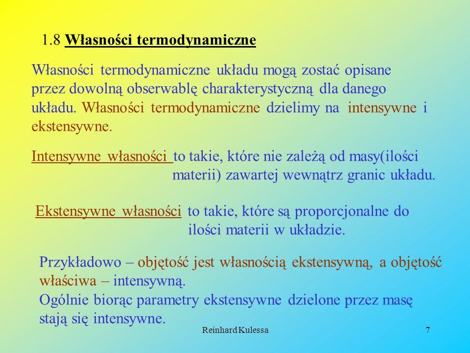 1.8 Własności termodynamiczne