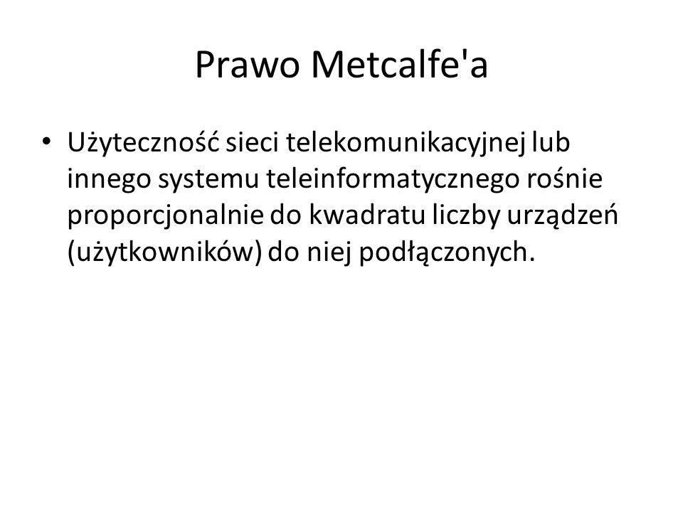 Prawo Metcalfe a
