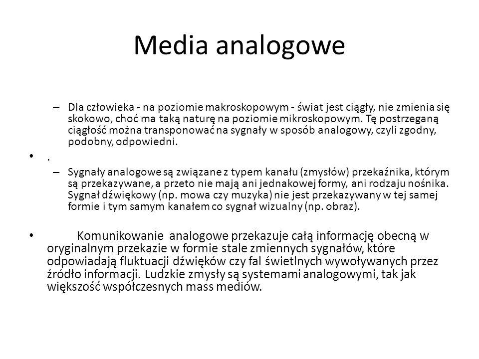 Media analogowe