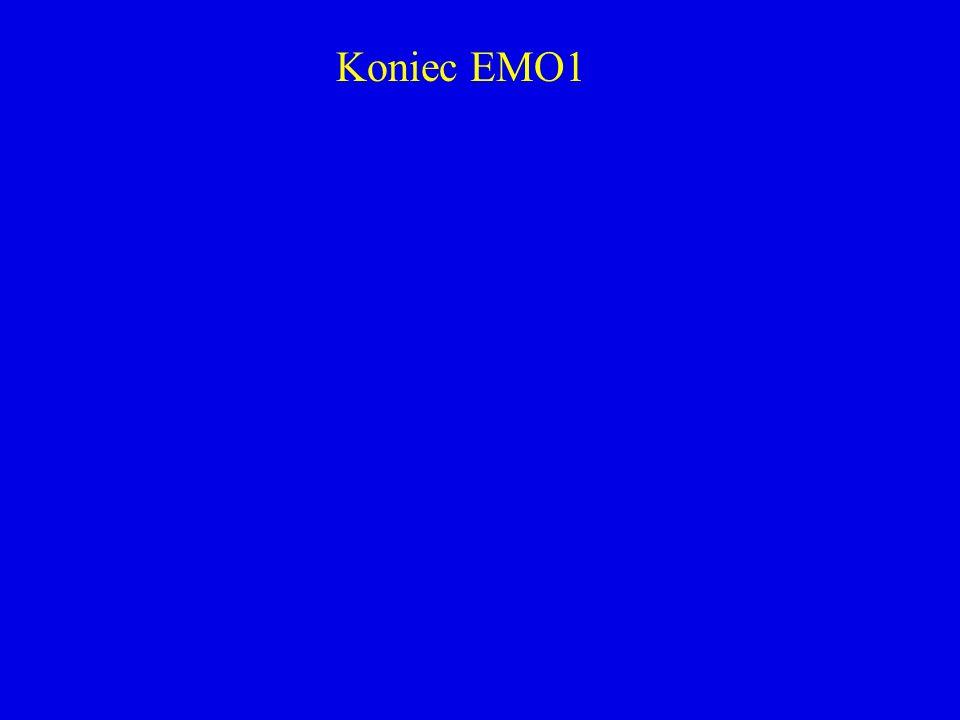 Koniec EMO1