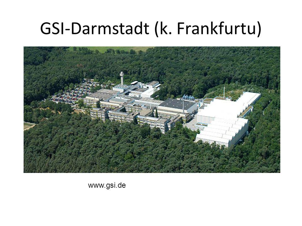 GSI-Darmstadt (k. Frankfurtu)