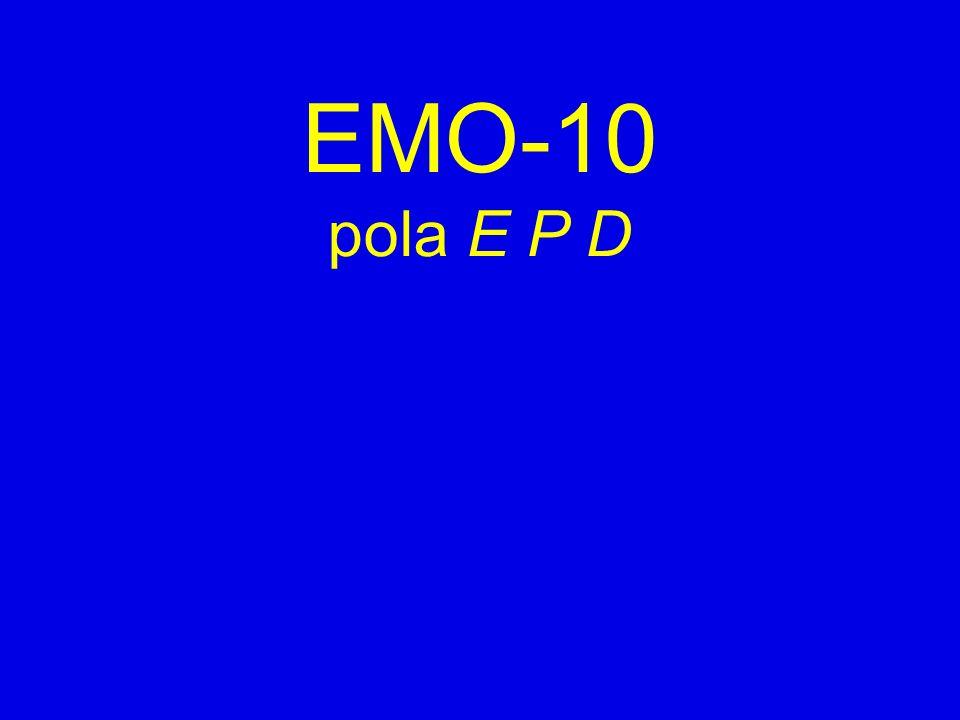 EMO-10 pola E P D