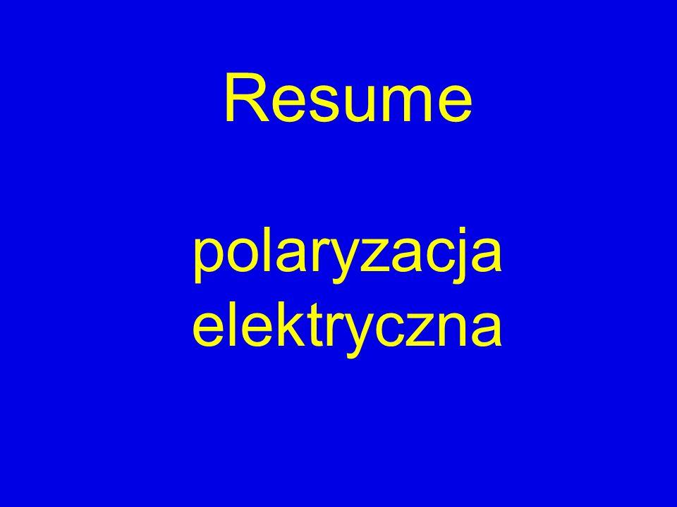 polaryzacja elektryczna